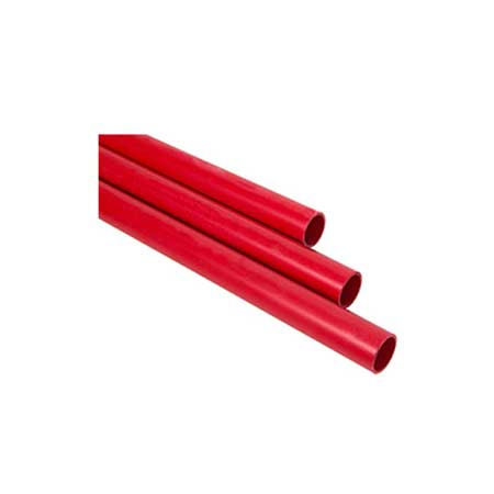 Tubo Ferro Galvanizado Pintado/Ranhurado S.M.