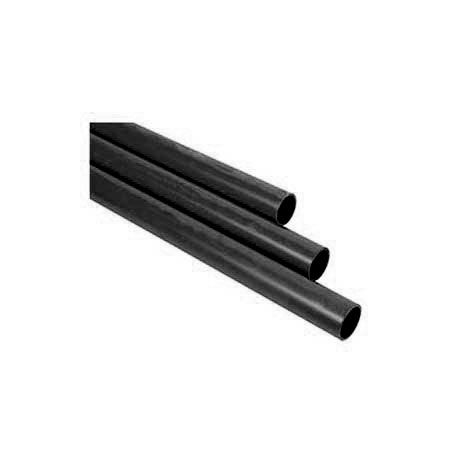 Tubo Ferro Preto Pintado/Ranhurado S.M.