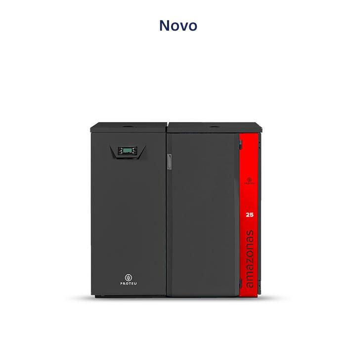 Proteu® Sanábria Caldeira Pellets Semi-Automatica