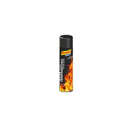Tinta Spray Alta Temperatura Preta