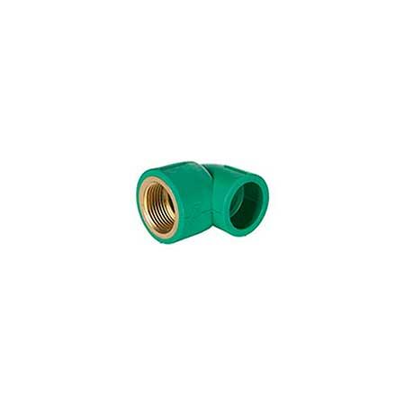 Heli® PP-R  Verde Joelho Fêmea