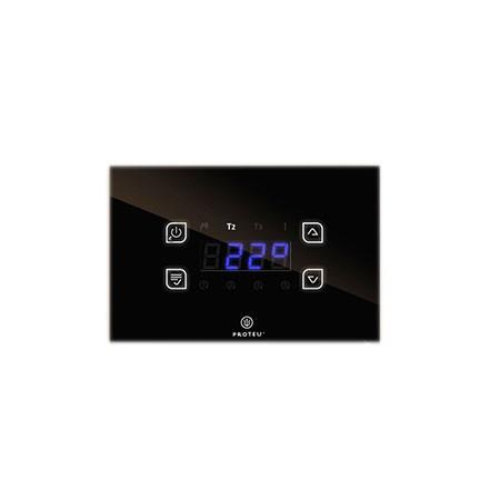 Proteu® Controlador Temperatura Vidro Preto