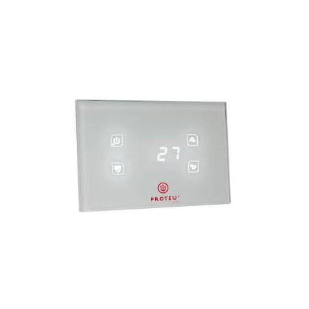 Proteu® Controlador Temperatura Vidro Branco