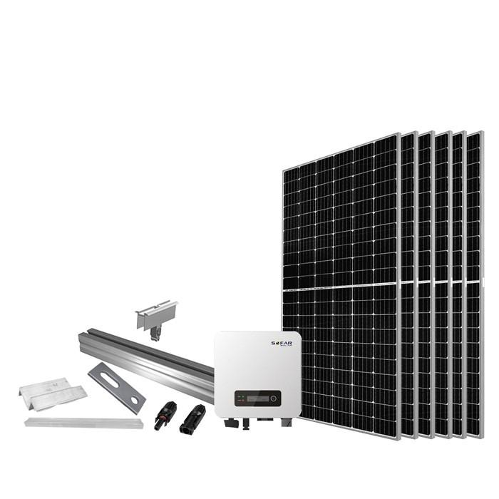 Proteu® Kit Fotovoltaico T.Inclinado 3 Paineis Autoconsumo