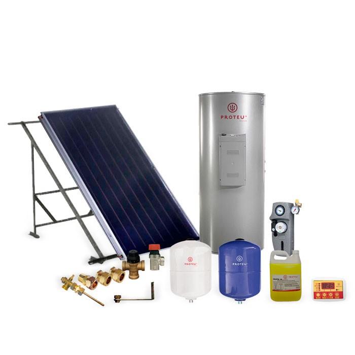 Proteu® kit Solar Forçado Vega 2.5 Inox