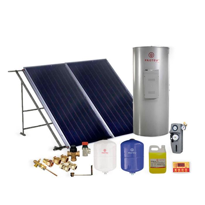 Proteu® kit Solar Forçado Vega 2.0 Inox