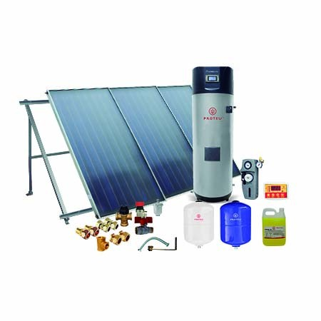 Proteu® Kit Solar Ártico C/Bomba Calor 500L 3 Painéis