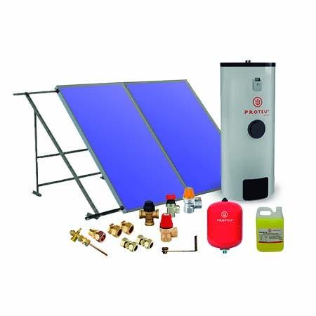 Proteu® Kit Solar Vega 2.0 c/Termoacumulador Ártico