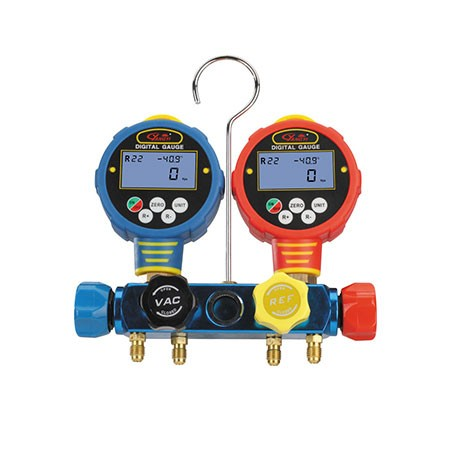 Manómetro Analisador C/Glicerina P/ R407C