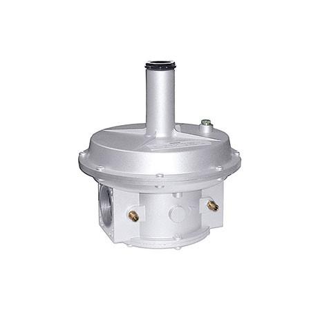 850* Filtro regulador para gás com fecho, de membrana dupla