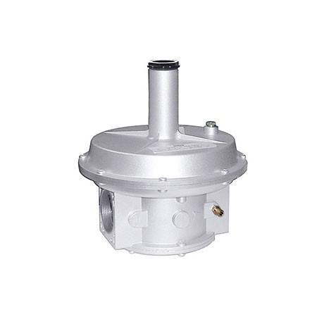 852* Regulador para gás com fecho, de membrana dupla