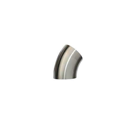 Curva Queda Aço Inox 45º