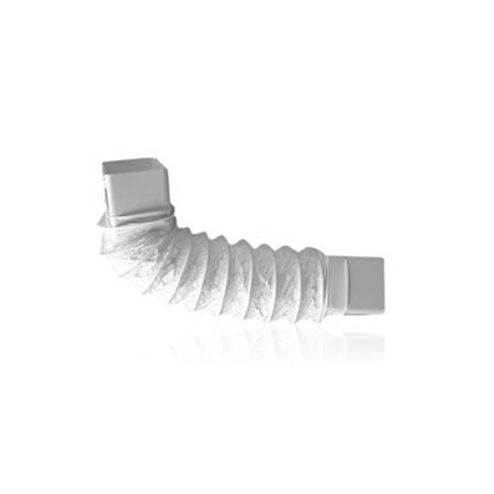 Curva Flexível Termopl. Ret. P/Ventilação